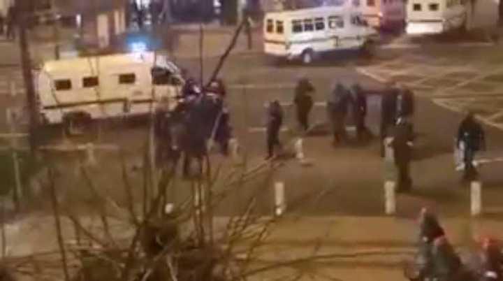 Un muerto en incidentes entre hinchas del Bilbao y el Spartak