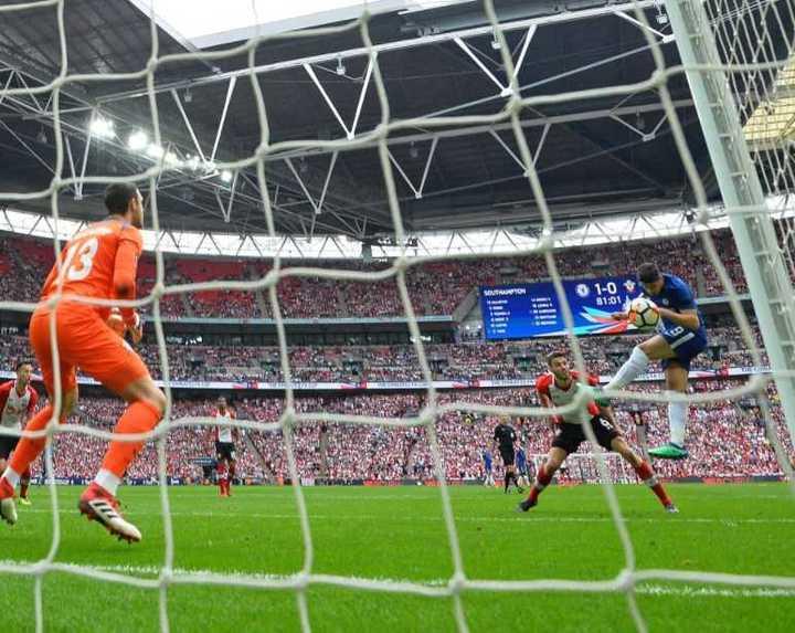 Wembley se rindió a los pies del Chelsea