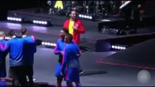 Juanfer Quintero se animó a cantar con Maluma