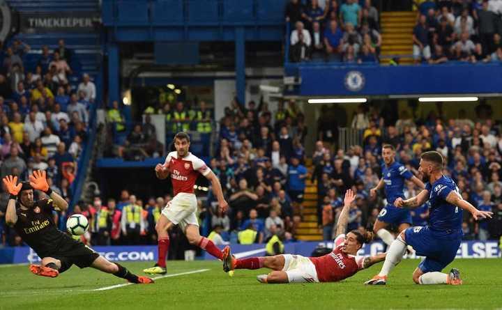 Los goles de Chelsea 3 - Arsenal 2