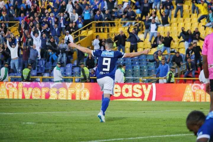 Hauche debutó con un gol en Millonarios