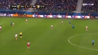El gol de Driussi para el Zenit