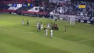 Libertad goleó 3-0 a Guaraní