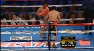 El tremendo nocaut de Márquez a Pacquiao