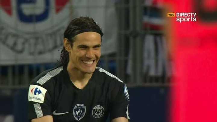 Le anularon un gol al PSG