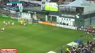 El gol de Tomás Andrade para Atlético Mineiro (contra Fluminense)
