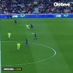 El golazo de Messi a Getafe