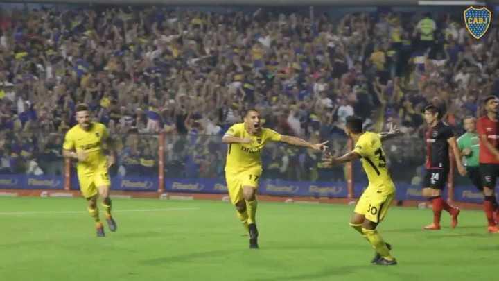 Lo goles de Boca desde adentro