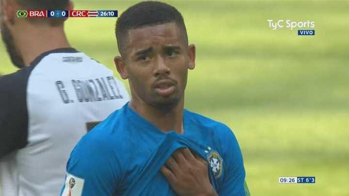 Brasil tuvo el primero pero fue anulado