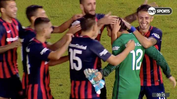 San Lorenzo se impuso en los penales