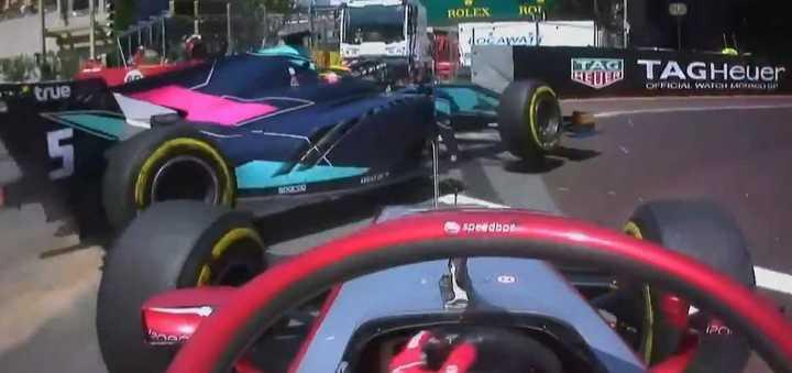 Insólito momento en la Fórmula 2