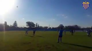 El 1-0 de Dock Sud a Villa San Carlos