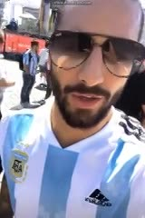 Maluma hinchó por Argentina