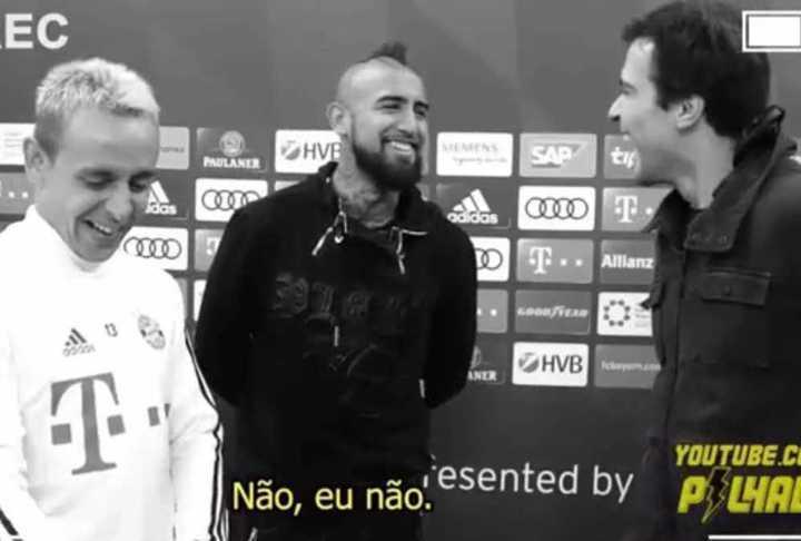 La provocación de Vidal a Messi