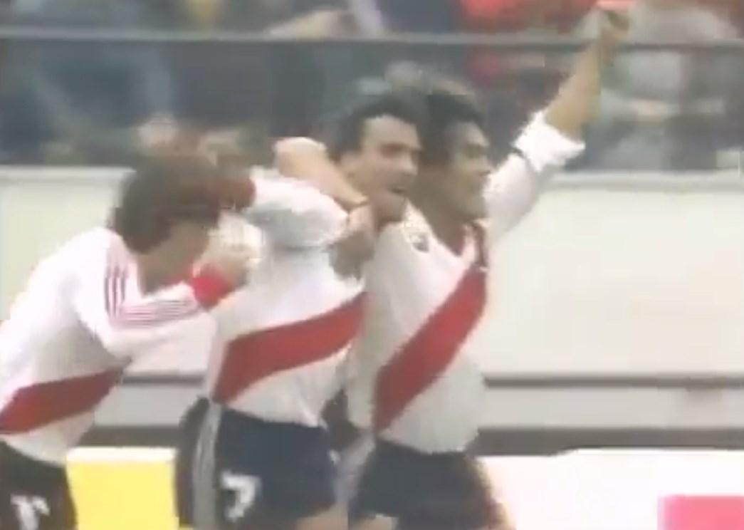 El gol de Alzamendi al Steaua
