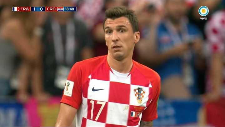 Mandzukic metió en contra el primero de Francia
