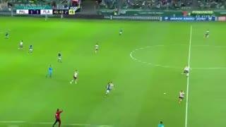 Se armó: Palmeiras y Flamengo casi se van a las manos