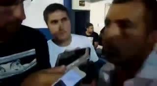 Las disculpas de Maxi Mayoz, DT de El Fortín de Olavarría, tras agredir al árbitro