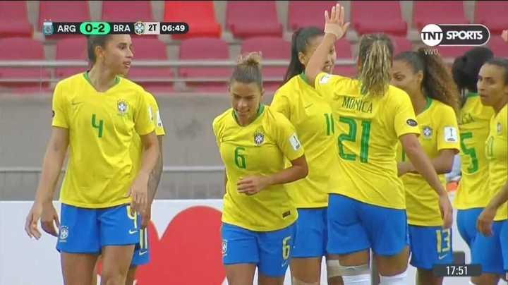 Brasil convirtió el segundo