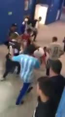 Violencia argentina con los croatas