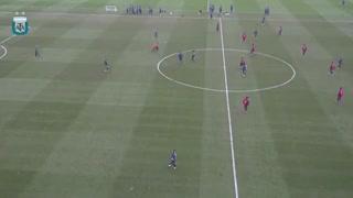 El gol de Messi en la práctica de la Selección