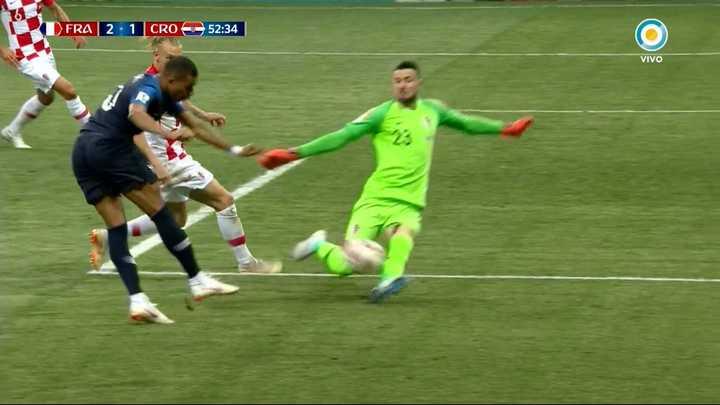 Mbappé tuvo el tercero