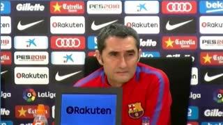 La palabra de Valverde sobre Messi