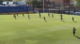 El gol de Junior Benítez en la Reserva