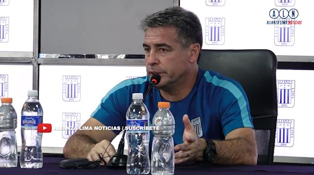 Bengoechea, DT de Alianza Lima, habló de la vuelta de Tévez a Boca