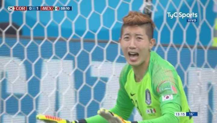 Cho Hyun-Woo salvó a Corea del Sur