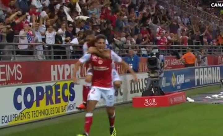 El gol de Chavarría al Lyon