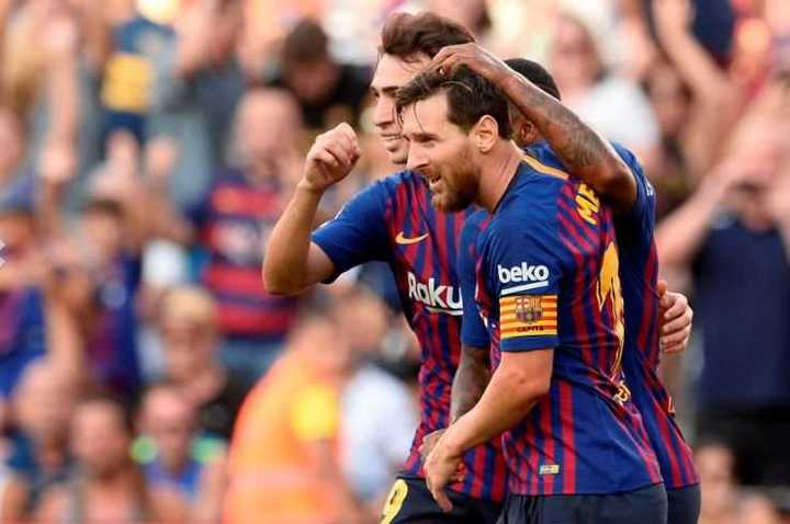 Todos los goles de Messi en la Joan Gamper