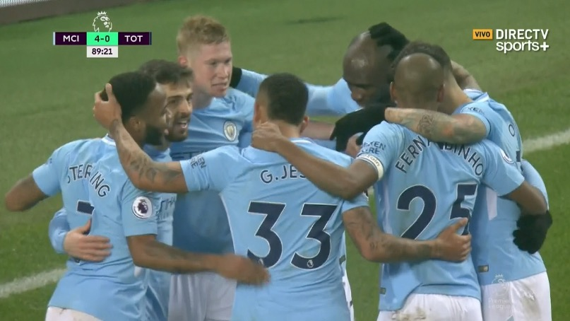 Sterling selló la goleada