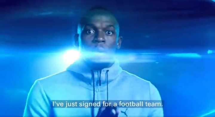 ¿En qué equipo juega Bolt?