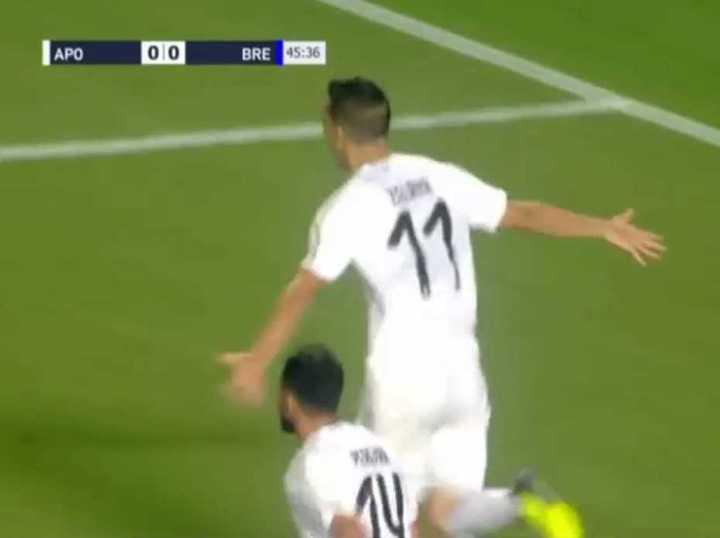 Los goles de Zelaya al Dinamo