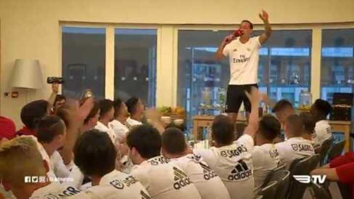 Los argentinos del Benfica se animaron a cantar