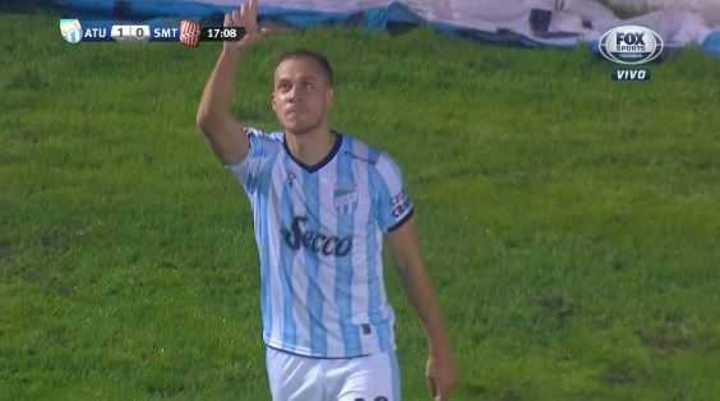 Leyes puso el 1 a 0 para Atlético Tucumán