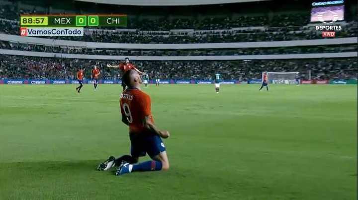 Castillo le dio la victoria a Chile