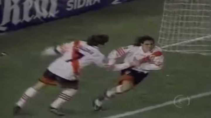 River vs. Vasco da Gama en 1998 por Libertadores