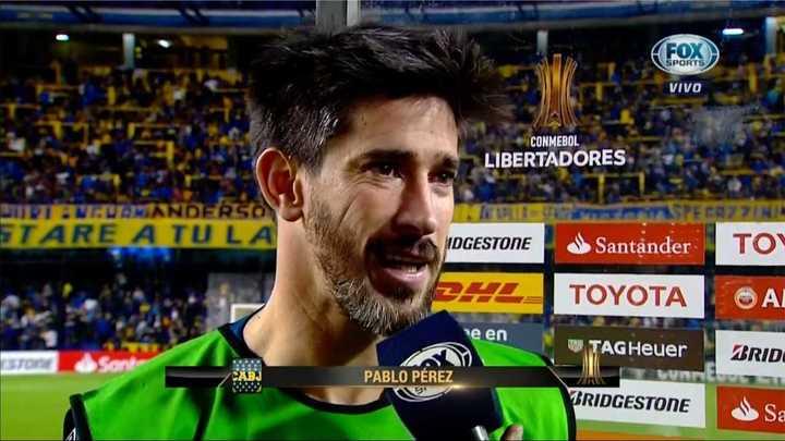 Pablo Pérez habló del superclásico del domingo