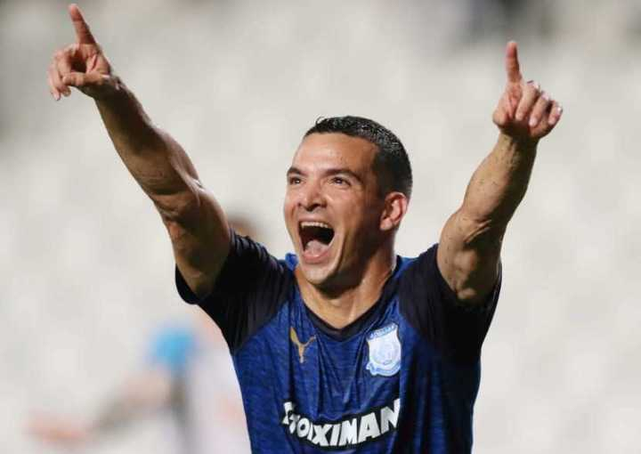 El gol de Zelaya al Olympique