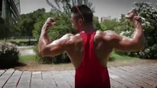 Mirá la rutina del Sansón del fitness