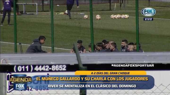 Gallardo se reunió con 12 de sus futbolistas