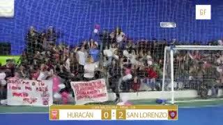 San Lorenzo le ganó 2-0 a Huracán
