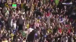 Roberto Pereyra la metió para Watford