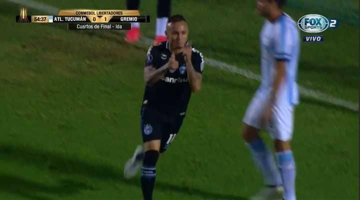 Everton marcó el segundo de Gremio