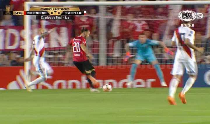 Silva reventó el palo