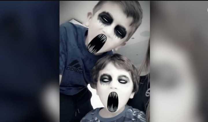 Los hijos de Lío Messi y Anto Rocuzzo se divirtieron con las máscaras de Halloween