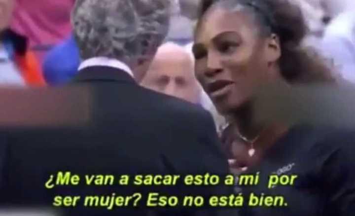 Serena Williams metió en la final del US Open la cuestión del sexismo