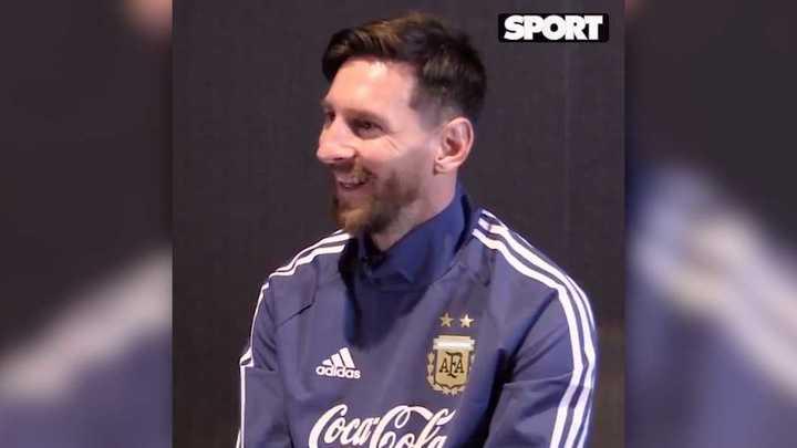 Messi habló de sus hijos